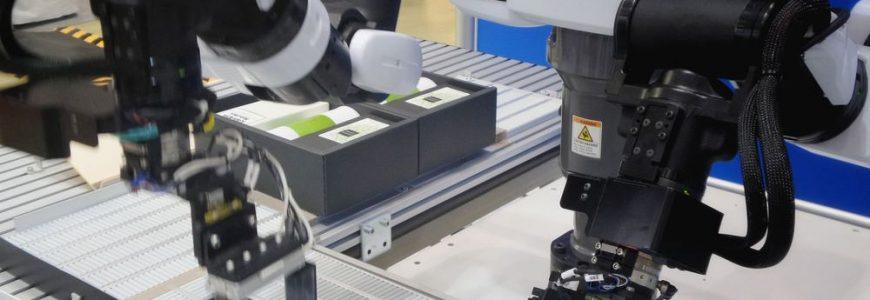 Roboter har stor kontroll på samlebåndet
