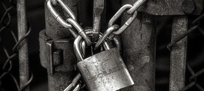 En lås kan være virkelig tøff å få opp!